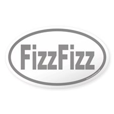 FizzFizz Euro Oval Decal