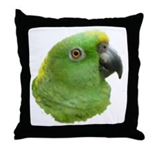 Rio the Amazon Parrot Throw Pillow