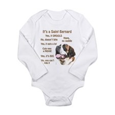 Saint Bernard FAQ Body Suit