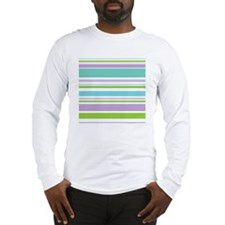 Horizontal Stripes Long Sleeve T-Shirt