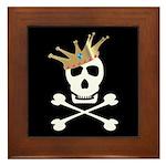 Pirate Royalty Framed Tile
