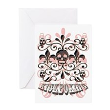 Kickboxing Greeting Card