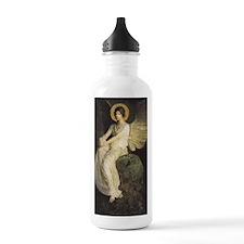 Winged Figure by Abbot Water Bottle