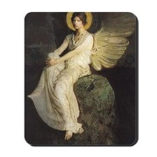 Winged Figure by Abbott Thayer Mousepad