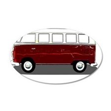 Hippy Bus Wall Decal