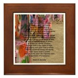 """Robert F. Kennedy Quote"" Framed Tile"