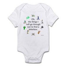 The Things We Go Through Infant Bodysuit