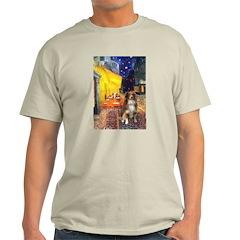 Cafe-AussieShep #4 Light T-Shirt