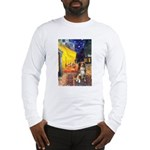 Cafe-AussieShep #4 Long Sleeve T-Shirt