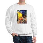 Cafe-AussieShep #4 Sweatshirt