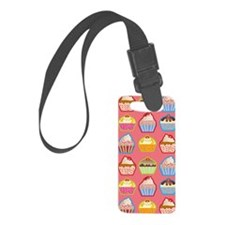 Cute Cupcakes Luggage Tag