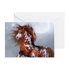 Native Horse Greeting Card