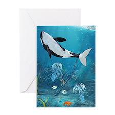 Orca II Greeting Card