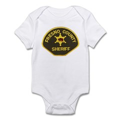 Fresno County Sheriff Infant Bodysuit