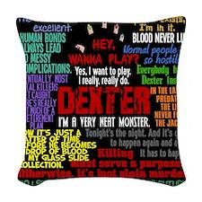 dextercurtain Woven Throw Pillow