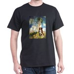 Umbrella-Aussie Shep Dark T-Shirt