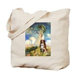 Umbrella-Aussie Shep Tote Bag