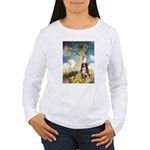 Umbrella-Aussie Shep Women's Long Sleeve T-Shirt