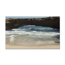 Natural Bridge Rectangle Car Magnet