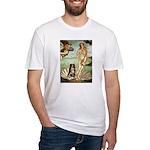 Venus-AussieShep#4 Fitted T-Shirt