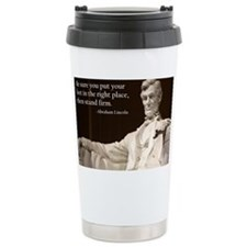 Lincoln - Stand Firm Travel Mug