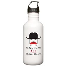 Rodeo Clown Water Bottle