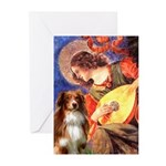 Angel3 - Aussie Shep #4 Greeting Cards (Pk of 10)
