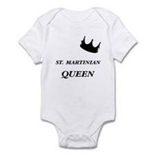 St. Martinian Queen Infant Bodysuit