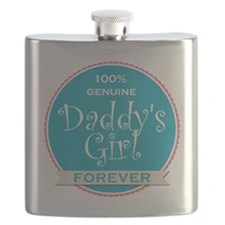 100% Genuine Daddy's Girl Forever Flask