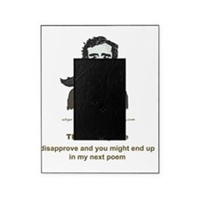 Poe Humorous Writing Life T-Shirt Picture Frame