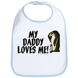 My daddy loves me (penguins) Bib
