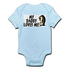 My daddy loves me (penguins) Infant Bodysuit