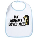 My Mommy Loves Me (Penguins) Bib
