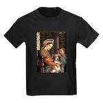 Madonna-Aussie Shep #4 Kids Dark T-Shirt