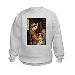 Madonna-Aussie Shep #4 Kids Sweatshirt