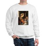 Madonna-Aussie Shep #4 Sweatshirt
