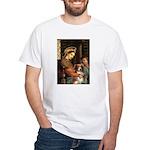 Madonna-Aussie Shep #4 White T-Shirt