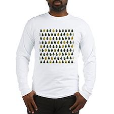 Avocado Pattern Long Sleeve T-Shirt