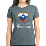 Happily Married Slovenian Tee