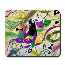 mardi gras party Mousepad