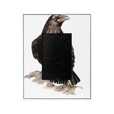 Watercolor Raven Bird Animal Art Picture Frame