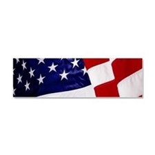 U.S. Flag Car Magnet 10 x 3