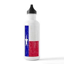 Vintage Texas Flag Sports Water Bottle