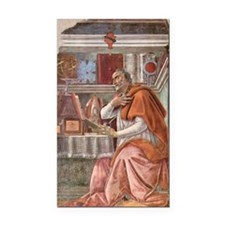 Augustine of Hippo by Bottice Rectangle Car Magnet