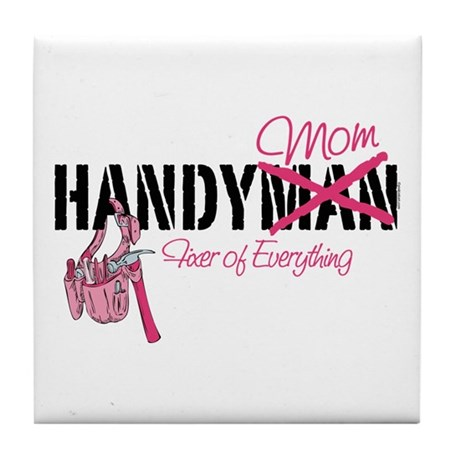 Handy Mom Tile Coaster