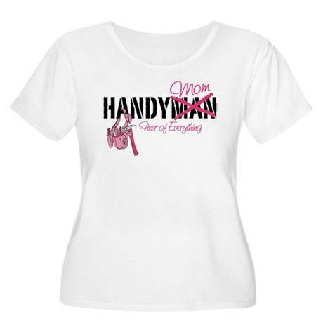 Handy Mom Women's Plus Size Scoop Neck T-Shirt