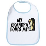 My grandpa loves me! (penguin Bib