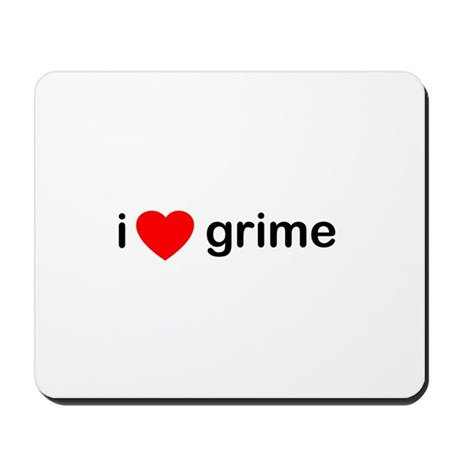 I Heart Grime Mousepad