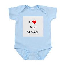 I love my uncles Infant Bodysuit