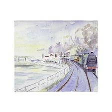 Tyne Valley Line xmas card Throw Blanket